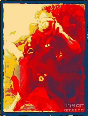 Jsm Fine Arts Halifax Digital Art - Diver Abstraction One by John Malone