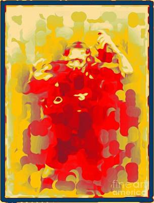 Jsm Fine Arts Halifax Digital Art - Diver Abstraction Two by John Malone