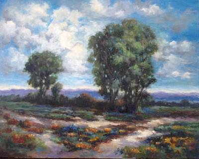 Painting - Diverging Paths by Sharon Franke