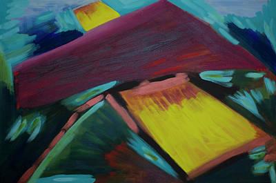 The Universe Painting - Diversion 2012 by Drea Jensen