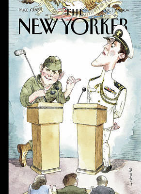Barry Blitt Painting - Diversionary Tactics by Barry Blitt