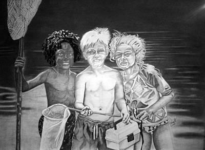 Drawing - Diversity by Phyllis Anne Taylor Pannet Art Studio