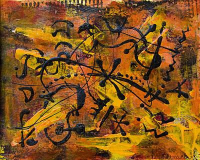 Painting - Divertimento No.14 by Alexandra Jordankova