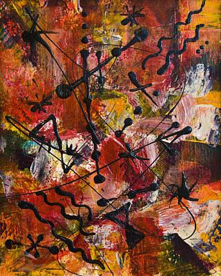 Painting - Divertimento No.18 by Alexandra Jordankova