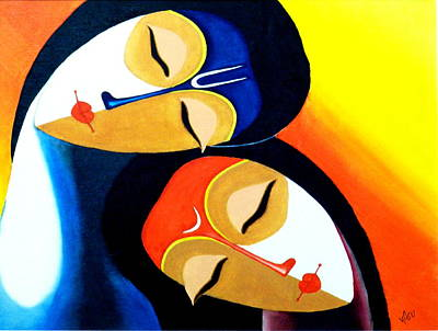 Godly Painting - Divine 2 by Bhushan Nayak
