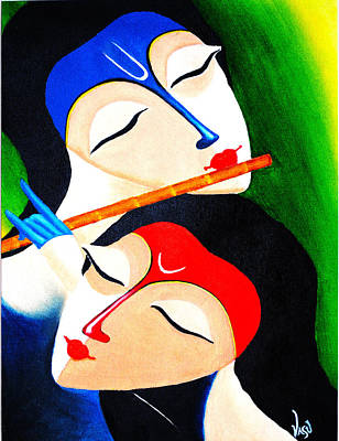 Godly Painting - Divine by Bhushan Nayak