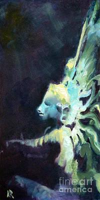 Nataraja Painting - Divine Dreamer by Ann Radley