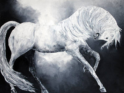 Painting - Divine Equine by Jennifer Godshalk