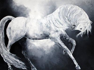 Painting - Divine Equine by Jennifer Godshalk