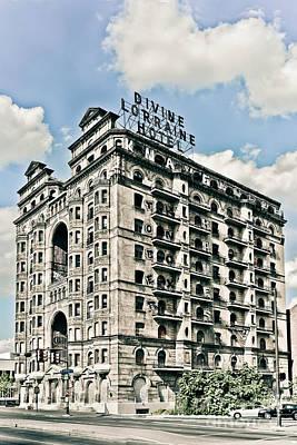 Divine Lorraine Hotel Art Print