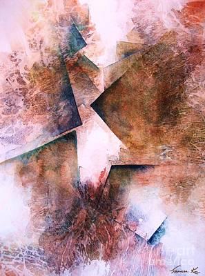 Painting - Divine Path by Frances Ku