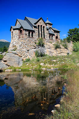 Saint Catherine Of Siena Chapel Photograph - Divine Reflection by Paul Moore