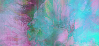 Art Print featuring the mixed media Divine Substance - Abstract Art by Jaison Cianelli