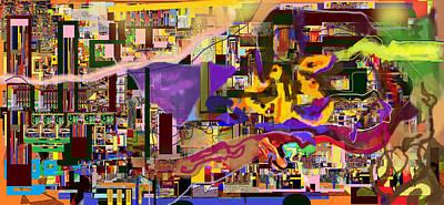 Talmud Digital Art - Divinely Blessed Marital Harmony 16f by David Baruch Wolk