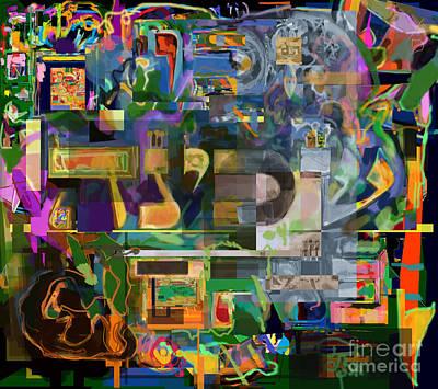 Talmud Digital Art - Divinely Blessed Marital Harmony 47 by David Baruch Wolk