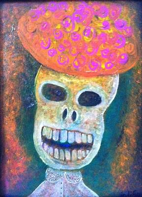 Painting - Divinity by Indigo Carlton