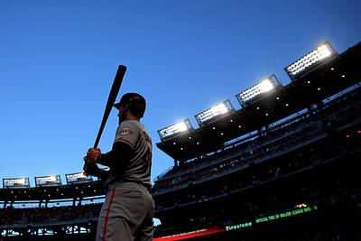 Photograph - Division Series - San Francisco Giants by Rob Carr