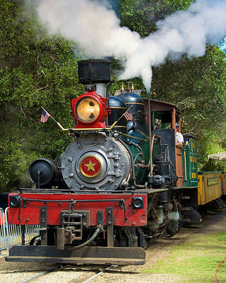 Photograph - Dixiana Engine 2 by Richard J Cassato