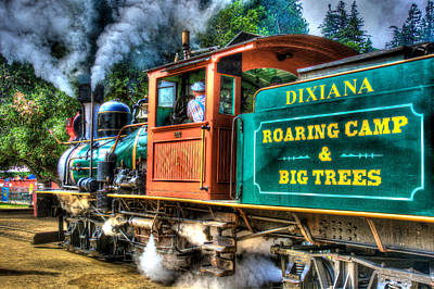 Photograph - Dixiana Engine 3 by Richard J Cassato