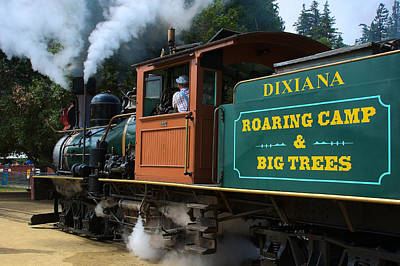 Photograph - Dixiana Engine 4 by Richard J Cassato