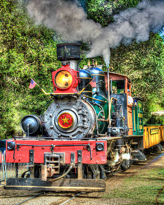 Photograph - Dixiana Engine by Richard J Cassato