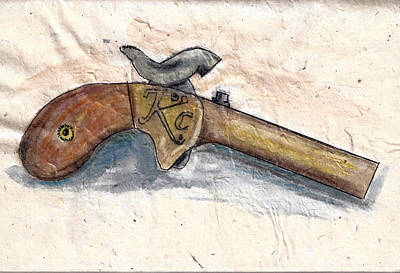 Painting - Dixie Derringer by Kevin Callahan