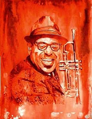 Dizzy Gillespie  Original by Marcelo Neira