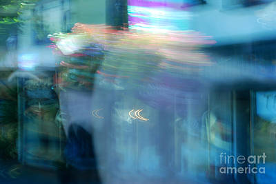 Photograph - Dizzy Life Abstract by Connie Fox