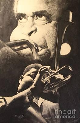 Emerging Artist Drawing - Dizzy Triumphs  by Adrian Pickett