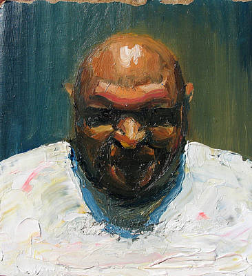 Man Painting - DJ by Alexei Biryukoff