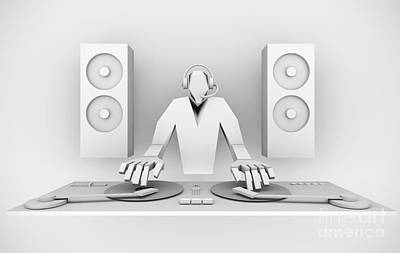 Digital Art - dj by Igor Kislev