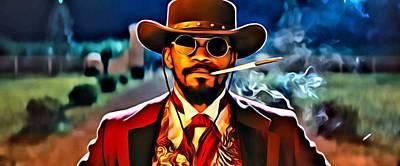Django Art Print by Florian Rodarte