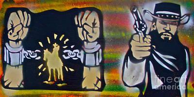 Tony B. Conscious Painting - Django Gunnin' by Tony B Conscious