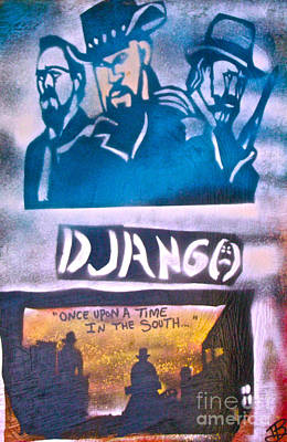Django Once Upon A Time Print by Tony B Conscious