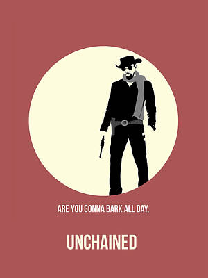 Series Painting - Django Unchained Poster 2 by Naxart Studio