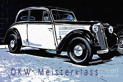 Painting - Dkw Meisterklass  by Liane Wright