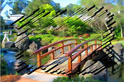 Photograph - Do-00009 Cypress Bridge by Digital Oil
