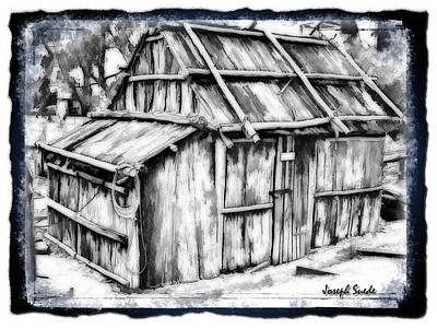 Photograph - Do-00131 Old Cottage by Digital Oil