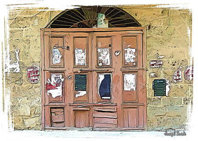 Photograph - Do-00383 Old Shop Doors by Digital Oil