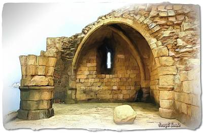 Photograph - Do-00427 Citadel Of Sidon by Digital Oil