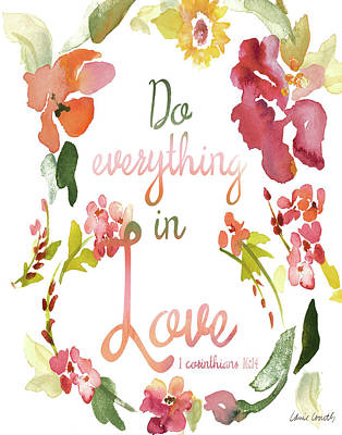 Everything Painting - Do Everything In Love by Lanie Loreth