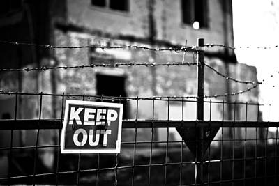 Photograph - Do Not Enter by Melinda Ledsome
