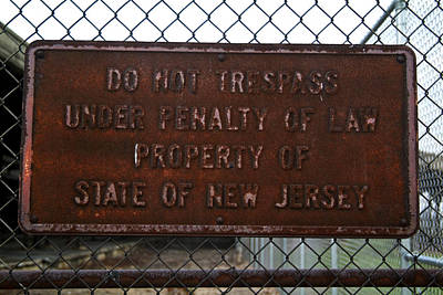 Photograph - Do Not Trespass by Michael Dorn