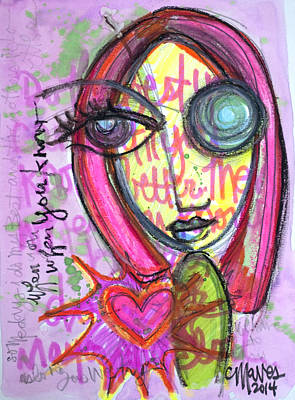 Painting - Do The Best You Can by Laurie Maves ART