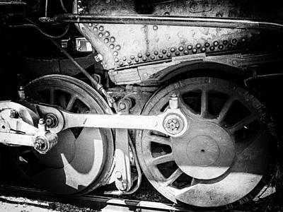 Pinhole Photograph - Do The Locomotive With Me by Edward Kreis