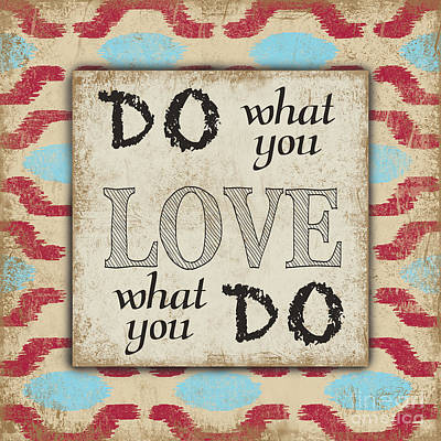 Do What You Love Original by Jean Plout