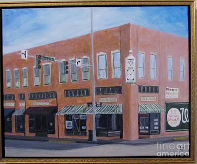 Painting - The Chavanne Building by Nancy Czejkowski