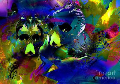 Chape Digital Art - Do You See What I See? by Doris Wood