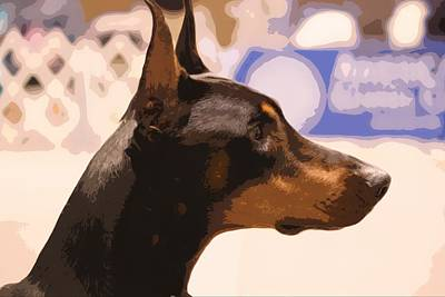 Photograph - Doberman by Donna G Smith