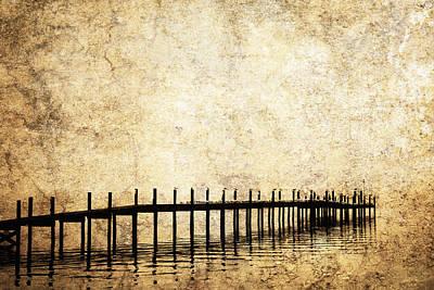 Dock 2 Art Print by Skip Nall